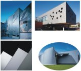 3mm Facade Wall Cladding와 Roofing를 위한 4mm Rheinzink Preweathered Weathered Zinc Sheet Titanium Zinc Composite Panel