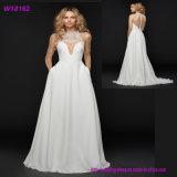 Heiße verkaufenform-bequeme Fußleiste und Blusen-Hochzeits-Kleid
