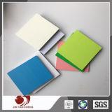 Scheda rigida bianca/beige/grigia/strato del PVC