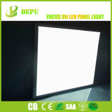 Marco de plata fresco del blanco 6000K 40W luz del panel plana del azulejo del panel de techo de 600 x de 600m m LED