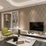 PVC Wallcovering, 2017 papier de mur de PVC, décor de mur, tissu de mur de PVC, papier peint de PVC