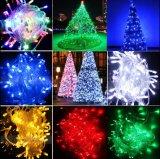 [100م] 600 [لد] عادية جهد فلطيّ خيط ضوء عيد ميلاد المسيح خيط ضوء لأنّ زخرفة