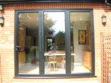 Puerta Bifold de aluminio de Pnoc080341ls con el último diseño