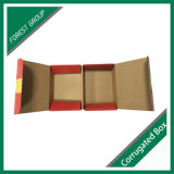 Het dubbele Open Beschermende Verpakkende Vakje van het Document voor de Verpakking van het Fruit