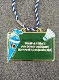 Personalizzato la medaglia dello smalto del ricordo della pressofusione