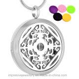 De Halsband van de Essentiële Olie van de Verspreider van het Parfum van het Ontwerp van de Bloem van Lotus