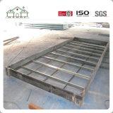 Casa económica del envase del panel de emparedado prefabricada