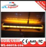 55 인치 104 LED 비상사태 경고 스트로브 표시등 막대