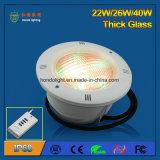 indicatore luminoso subacqueo di 40W IP68 LED per la piscina di plastica