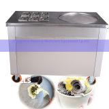 Machine commerciale de crême glacée de friture de la Thaïlande de Stir plat carré de carter