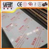 Placa de aço inoxidável de ASTM A240 316L