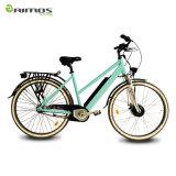 vélo électrique de ville de lithium de 700c 250W 36V 10ah avec En15194