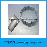 Magneet van het Neodymium van de boog de Segment Gebogen voor Verkoop