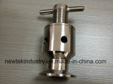 Válvula de escape de ar Sanitária Triclamp Fermenter de aço inoxidável