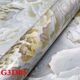 壁布、PVC壁紙、Wallcoveringの壁ペーパー、シートに床を張る壁ファブリック。 床タイル、フロアーリングロール