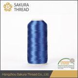 Cuerda de rosca del rayón de la clase de Sakura Oeko-Tex100 1 con alta tenacidad