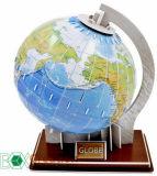 Papierweltmodell der kugel-3D/Papppuzzle/pädagogisches Spielzeug