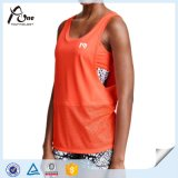 Bra를 가진 섹시한 Running Clothing Women Tank Top Sports Singlet
