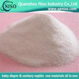 Polímero Absorbente Absorvente de Fralda de Bebê com Certificação SGS