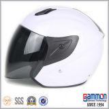De de koele Witte Open Motorfiets van het Gezicht/Helm van de Motor (OP226)