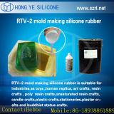 Muffe del silicone della gomma di silicone delle lingottiere RTV