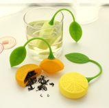 Setaccio a forma di limone del tè del silicone del commestibile