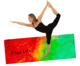 Цветастая напечатанная циновка йоги, имеющееся обслуживание OEM