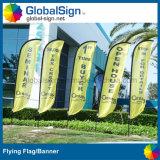 スポーツ・イベントのための4.5mのフルカラーの印刷された飛行旗