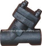 Продетая нитку кованая сталь или тип задерживающие клапаны Sw y