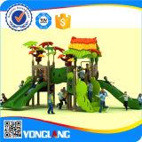 O campo de jogos ao ar livre plástico das crianças desliza o equipamento China (YL-L175)