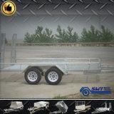 De Aanhangwagen van de Tanker van de Aanhangwagen van de Kooi van het Staal van de superieure Kwaliteit volledig