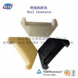 Painted rosso Elastic Nabla Rail Clip per Railway Fastening System
