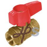 Válvula de esfera de bronze do gás do forjamento aprovado de CSA