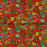 La Navidad Printed Cotton Fabric para Gift Packing