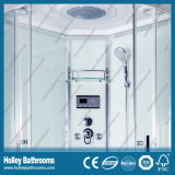 Hot Selling Computer Display Shower Cubicle com prateleira de vidro (SR213B)