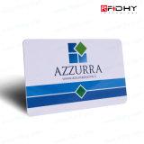 Tarjeta elegante sin contacto de la electrónica de la identificación RFID del asunto del PVC