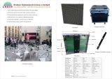 P10mm SMD3535 Miet-Panel der LED-Bildschirmanzeige-(druckgießende 640*640mm)