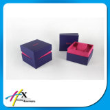 Caisse d'emballage de papier faite sur commande en gros fabriquée à la main de luxe de bijou de montre