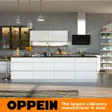 新しいデザイン現代光沢度の高いラッカー木の卸し売り食器棚(OP16-L19)