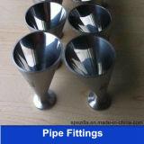 Ajustage de précision de pipe d'acier inoxydable de catégorie comestible (3A BPE SMS)