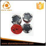 4 Schijf van de Diamant van de Segmenten van de duim de Schurende Concrete Malende