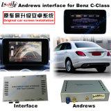 Relação video da navegação Android do carro para o Benz C, Cla, Clk, B, a, E, navegação do toque do melhoramento do Glc (NTG5.0), WiFi, BT, Mirrorlink