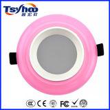 Techo coloreado SMD popular LED Downlight de la superficie LED del diseño 9W