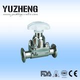 Válvula de diafragma neumática sanitaria de Yuzheng Dn20