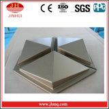 La especialización en la producción perfiló el panel de aluminio con la capa de PVDF/Powder