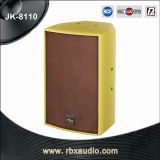 Jk-8110 Single 10 Inches Professional 2-Way Sound Audio