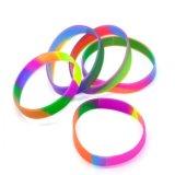 Bracelete e Pulseira de Silicone de Pulseira de Silicone Colorido