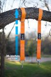 Trägt haltbares Nettoschwingen-hängende Installationssatz-Schwingen-Brücke-Schwingen-hängende Installationssätze