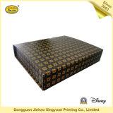 Rectángulo de regalo magnético de la cartulina de papel de encargo de lujo