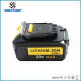 для Li-иона батареи замены електричюеского инструмента Dewalt 20V 4000mAh